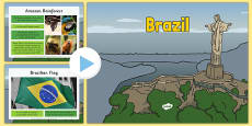 Brazil Information PowerPoint