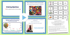 Year 2 Use Expanded Noun Phrases Lesson Ideas and Resource Pack PowerPoint
