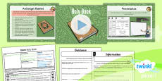 PlanIt - RE Year 3 - Islam Lesson 5: Holy Book Lesson Pack