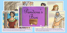 Pandora's Box Ancient Greek Myth Story