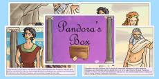 Pandora's Box Ancient Greek Myth Story