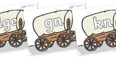 Silent Letters on Wagons