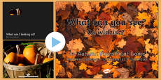 What Can You See Autumn PowerPoint Polish Translation