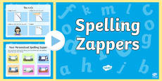 How to Use Spelling Zappers (A Guide for Children) PowerPoint