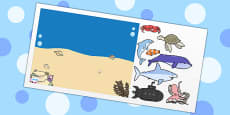 Under the Sea Themed Editable PowerPoint Background Template