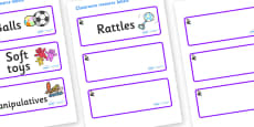 Florence Nightingale Themed Editable Additional Resource Labels