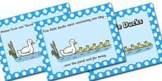 Five Little Ducks PowerPoint