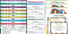 EYFS Bumper Planning Pack to Support Teaching on Elmer