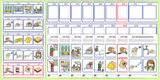 Workstation Pack: Four Step Sequencing Activity Pack