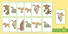 Number Cards to Support Teaching on The Gruffalo's Child