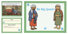 Be My Guest Lesson PowerPoint Presentation
