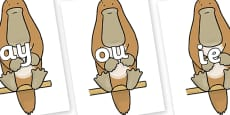 Phase 5 Phonemes on Platypus to Support Teaching on The Great Pet Sale