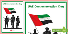 UAE Commemoration  Day Display Poster