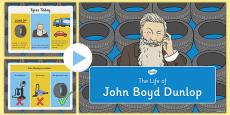 John Boyd Dunlop Information PowerPoint