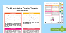 The Airport Aistear Planning Template