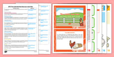 EYFS The Little Red Hen Discovery Sack Plan and Resource Pack