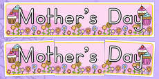 Australia - Mother's Day Display Banner