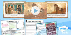 PlanIt - History KS2 - Ancient Greece Lesson 6: The Trojan War Lesson Pack