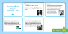 Thomas Blake Glover Sequencing Cards