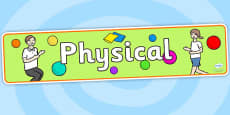 EYFS Learning Areas Physical Display Banner