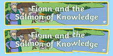 Fionn and the Salmon of Knowledge Display Banner