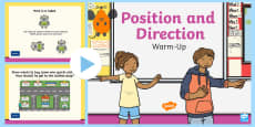 Year 2 Position and Direction Warm-Up PowerPoint