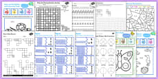 TA Maths Puzzle Pack for KS1