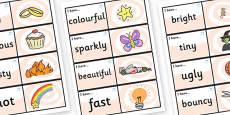 Wow Words Loop Cards