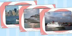 Australia - Sea Boats Transport Display Photos