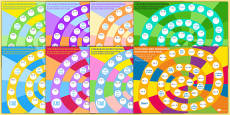3 To 12 Times Table Multiplication And Division Board Games Pack