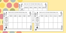Comparing the Book and Film Differentiated Activity Sheets to Support Teaching on Charlie and the Chocolate Factory