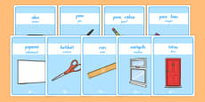 Classroom Equipment Labels Te Reo Māori Translation