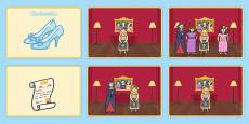 Cinderella Story Sequencing