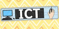 ICT Display Banner