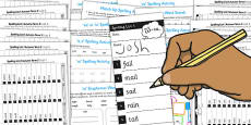 Year 1 Autumn Term Spelling Lists and Resources Pack