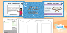 PlanIt - RE Year 1 - Gifts and Giving Lesson 4: What is Eid al-Fitr? Lesson Pack