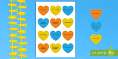 Kindness Week Kind Hearts