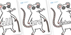 Tricky Words on Blind Mice