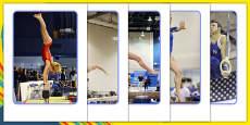 The Olympics Artistic Gymnastics Display Photos