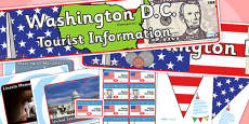 Washington DC Tourist Information Office Role Play Pack