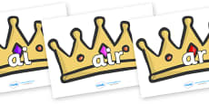 Phase 3 Phonemes on Crowns