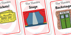 The Theatre Role Play Posters