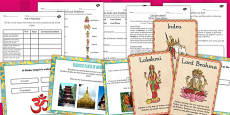 Buddhism, Judaism and Hinduism Places of Worship and Beliefs Lesson Teaching Pack