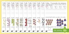 Ficha de  formación de números