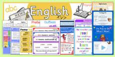 LKS2 English Display Pack