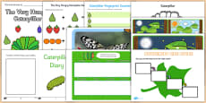Top 10 Caterpillar Activity Pack to Support Teaching on The Very Hungry Caterpillar
