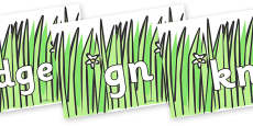 Silent Letters on Wavy Grass