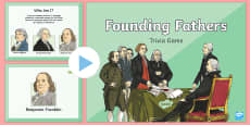 * NEW * Founding Fathers Trivia PowerPoint Game