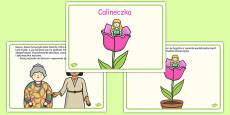Thumbelina Story Polish