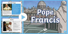 Pope Francis Information PowerPoint
